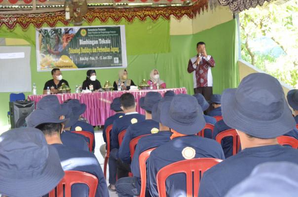 Tingkatkan kapasitas petani Jagung, BBP2TP adakan Bimtek di Sigi, Sulteng